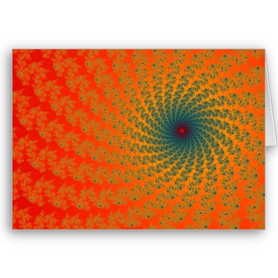 Circus Whirlpool 2 Greetings Card