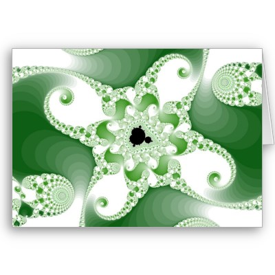 Twisted Cupric Octopuses Greetings Card