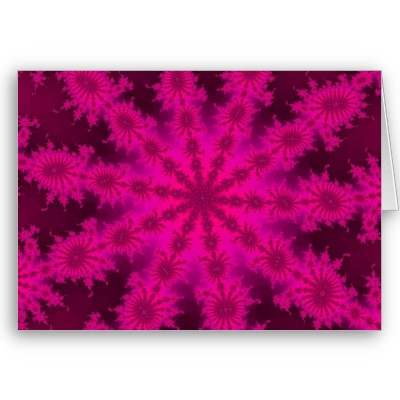 Pink Decasteer Greetings Card