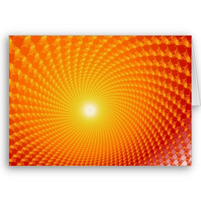Sunrise Greetings Card