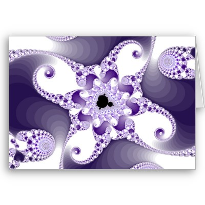 Twisted MnO4 Octopuses Greetings Card