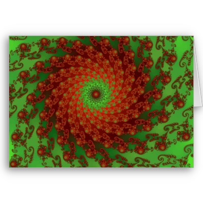 Poinsettia Greetings Card