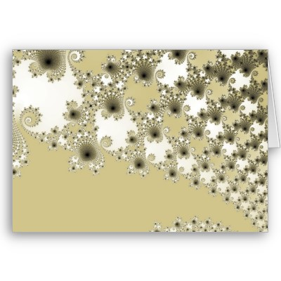 Gold Urchins Greetings Card