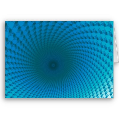 Bottom of the Deep Blue Sea Greetings Card