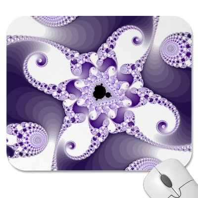 Twisted MnO4 Octopuses Mousepad