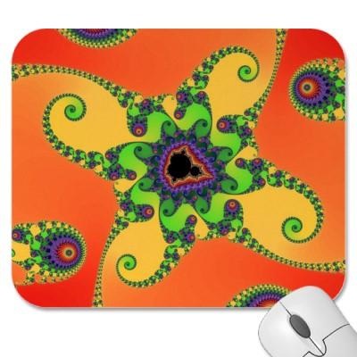 Rainbow Octopuses Mousepad