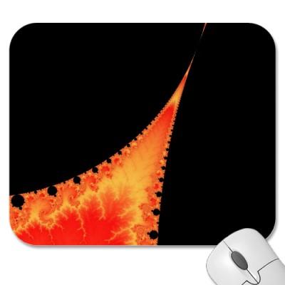 Fiery Stalagmite Mousepad