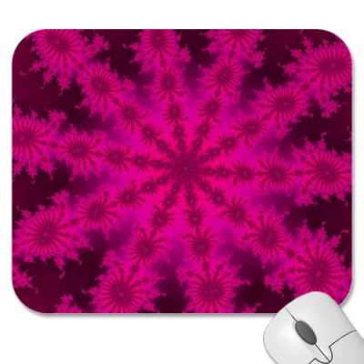 Pink Decasteer Mousepad