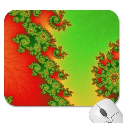 Christmas Lines Mousepad