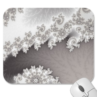 Silver Lines Mousepad