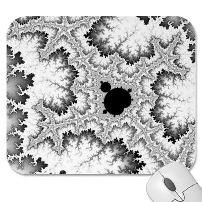 Black Coral Mousepad