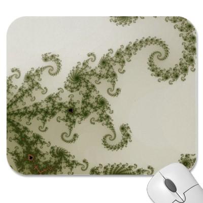 Olive Smoke Mousepad