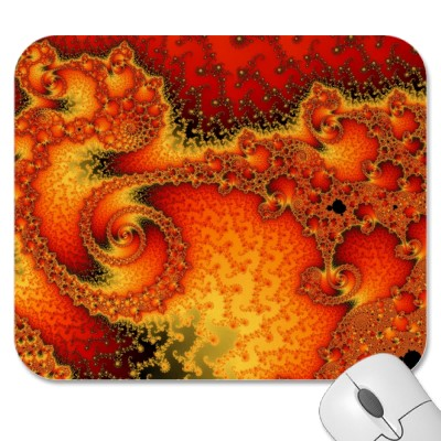 Red Hot Firepit Mousepad