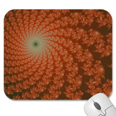 Olive Whirlpool Mousepad