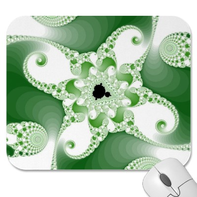 Twisted Cupric Octopuses Mousepad