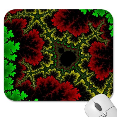 Coral Collage Mousepad