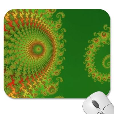 Christmas Spirole Mousepad