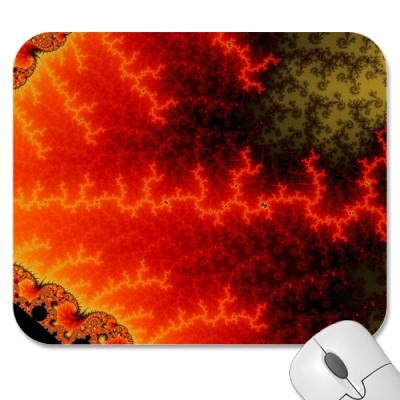 Flame Zigzag Mousepad