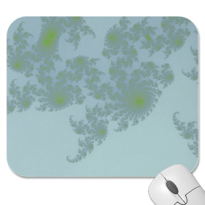 Green Ferns Mousepad