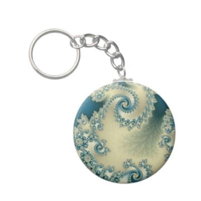 Seascape 1 Keychain