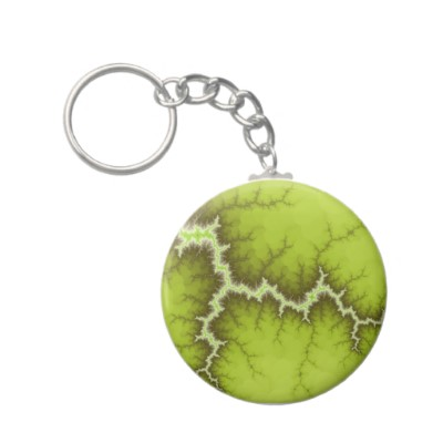Apple Tree Roots Keychain