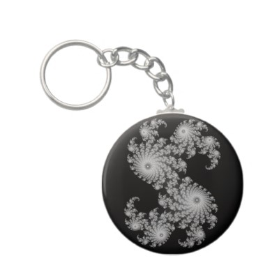 Grey Julia 324048 Keychain