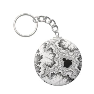Black Coral Keychain