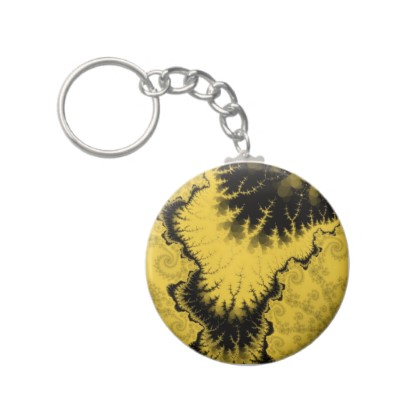 Musty Feathered Star Keychain