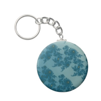 Marching Seahorses 1 Keychain