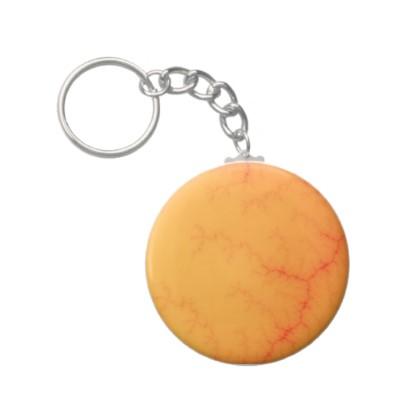 Tangerine Capillary Keychain