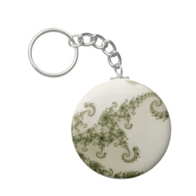 Olive Smoke Keychain