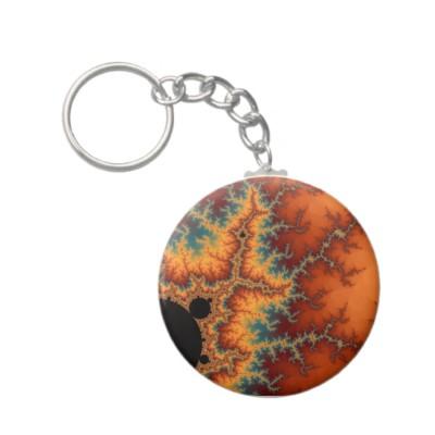 Solar Flare Keychain