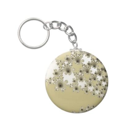 Gold Urchins Keychain