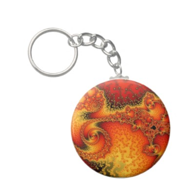 Red Hot Firepit Keychain