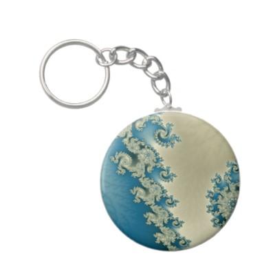 Seascape 4 Keychain