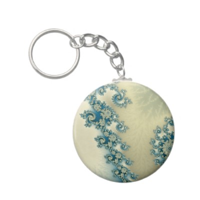 Seascape 3 Keychain