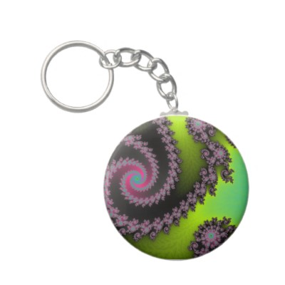 Irridescent Tongues Keychain