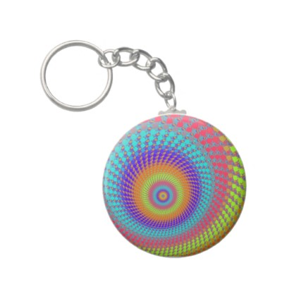 Highlighter Pen Roundalls Keychain