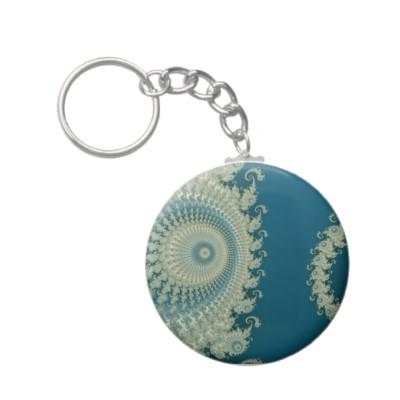 Seaside Spirole Keychain