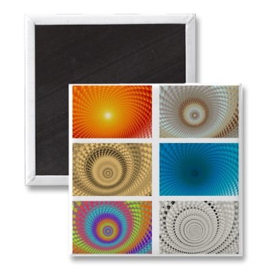 Tableau of Circles Magnet