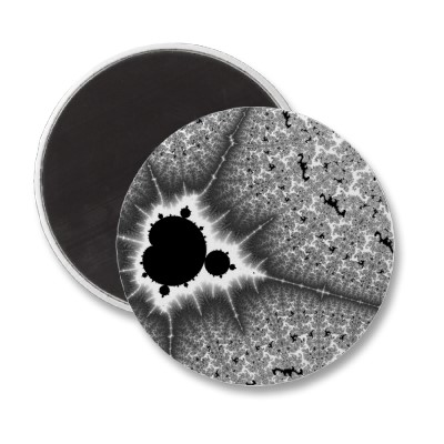 Black Mini Brot Magnet