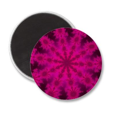Pink Decasteer Magnet