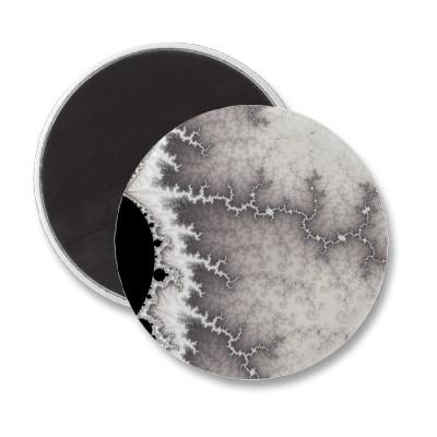 Silver Fault Line Magnet