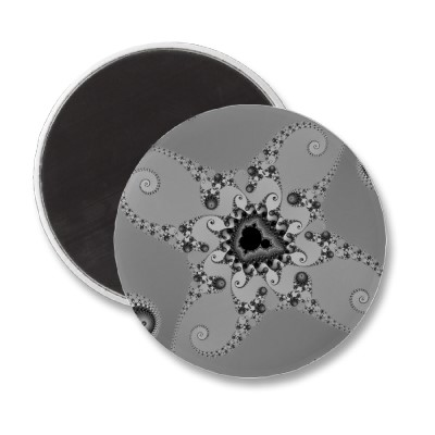 Grey Octopuses Magnet