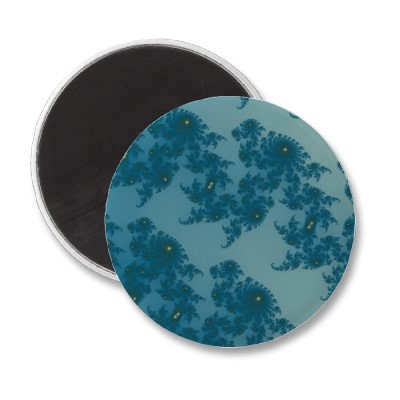 Marching Seahorses 1 Magnet
