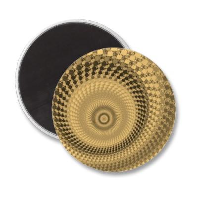 Sepia Roundalls Magnet