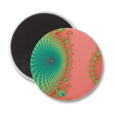 Rainbow Spirole Magnet