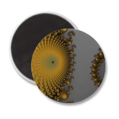 Pumpkin Spirole Magnet