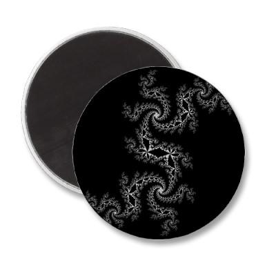 Black White Julia 300488 Magnet