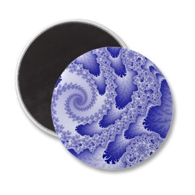 Blue Tongues Magnet